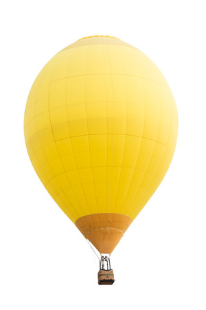 balloons: Hot air balloon isolated on white background