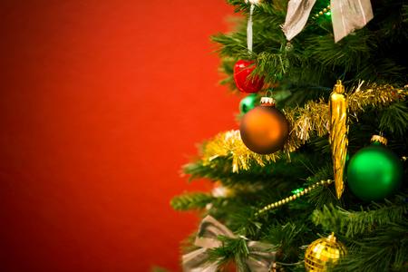 christmas tree: Christmas tree background
