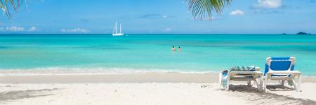 Tropisch strand paradijs