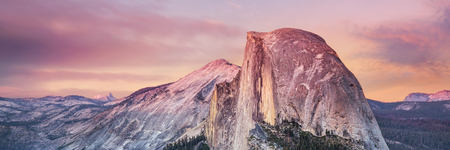 dome: Half Dome, Yosemite National Park Stock Photo