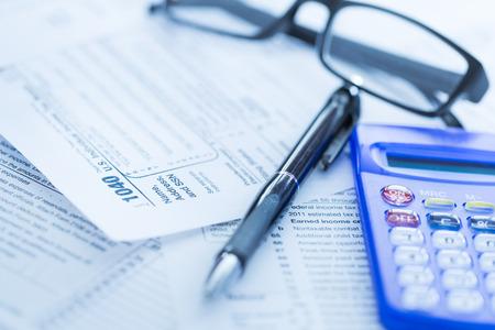 impuestos: Formularios de impuesto