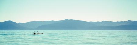serene landscape: Kayaking