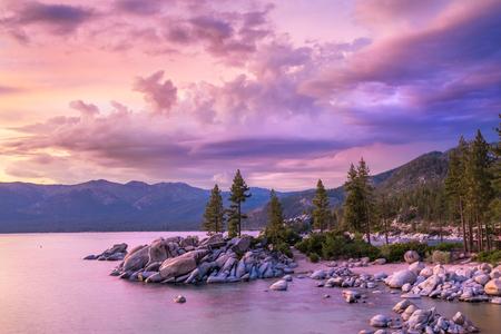 tahoe: Lake Tahoe sunset