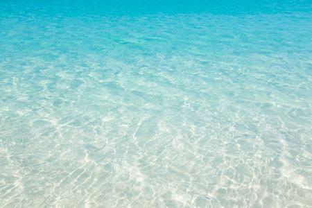 Tropical beach water background Standard-Bild
