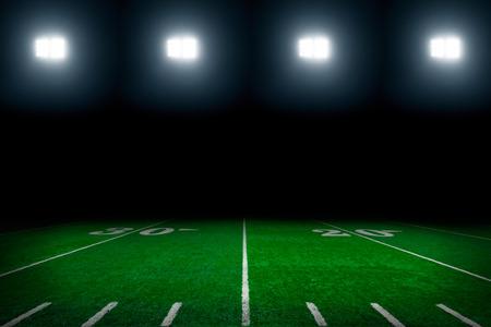 American football field background Archivio Fotografico