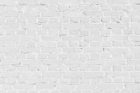 White brick struttura della parete di fondo