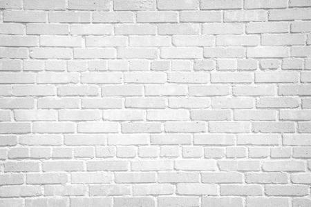 Biała cegła ściana tle Zdjęcie Seryjne