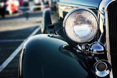 Klassieke Amerikaanse auto Stockfoto