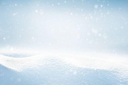 Winter landscape with snow Stok Fotoğraf
