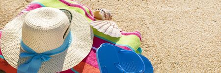 Beach summer vacation 写真素材