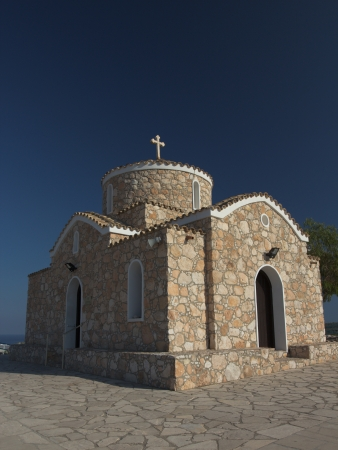 Profitis Ilias Church, Protaras, Cyprus Stock Photo - 16924523