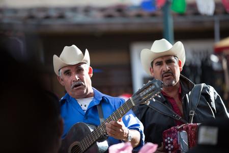メキシコのストリート アーティスト 報道画像