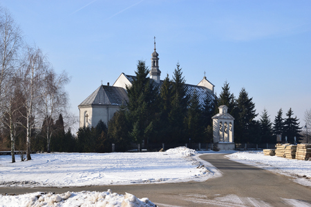Christian Catholic Church at Winter
