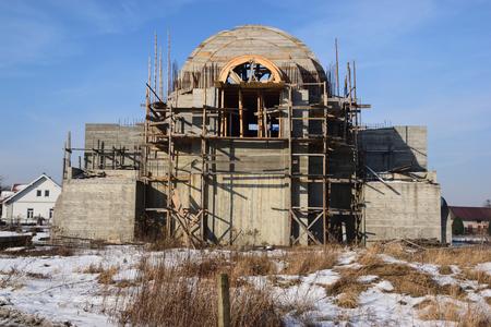 Church Construction Site