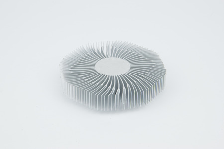 Computerprocessor Heatspreader Radiator Stockfoto