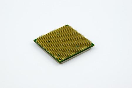 CPU's - Personal Computer Processor op de heldere achtergrond