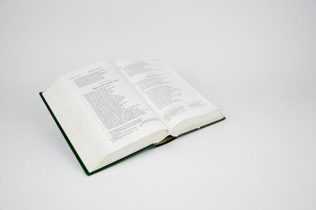 ordenanza: La Biblia  Foto de archivo