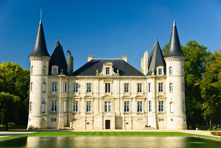 bordeaux: Chateau Pichon Longueville in region Medoc, France
