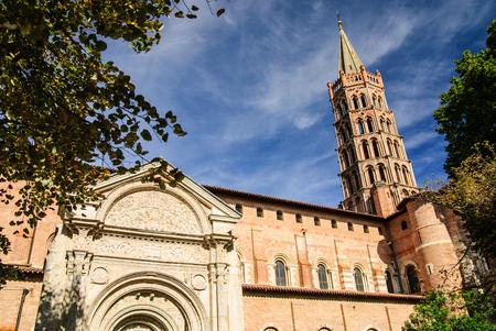 Medieval Basilica of Saint Sernin, Toulouse, France