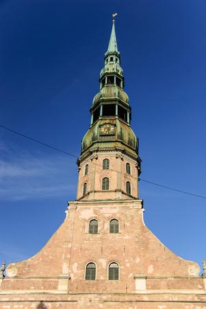 St. Peters church, Riga, Latvia
