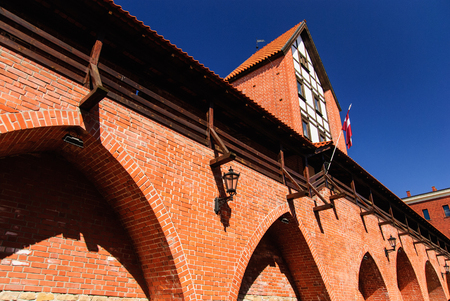 Arsenal with city walls, Riga, Latvia