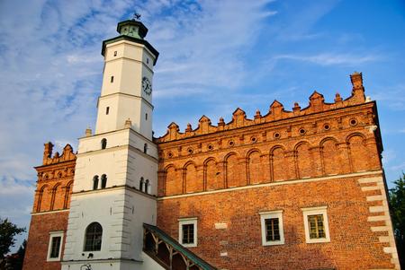 Renaissance city hall in Sandomierz, Poland