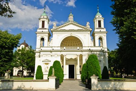 St. Annes Church in Wilanow, Warsaw, Poland