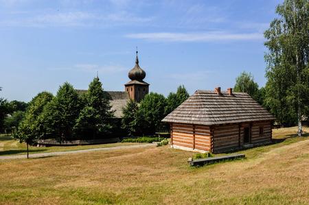 Historic Polish village, Lesser Poland, Malopolska, Poland Stok Fotoğraf