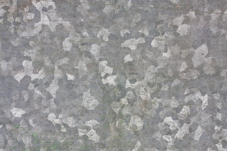 Zinc galvanized grunge metal texture may be used as background