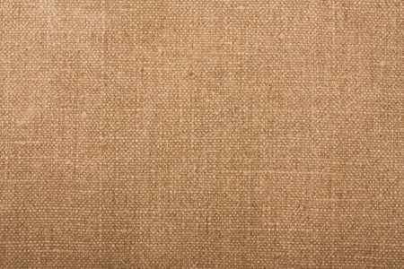 burlap texture: Natural brown fabric closeup texture