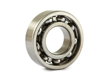 ball bearing: jointed ball bearing isolated on white background