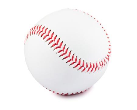 beisbol: Pelota de béisbol aislado sobre fondo blanco