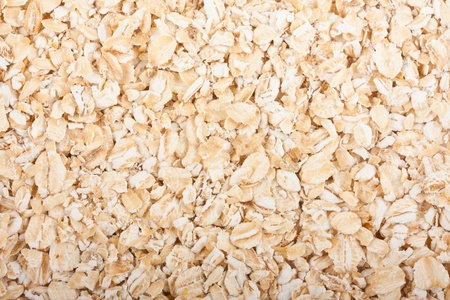 Oat flakes texture may be used as background photo