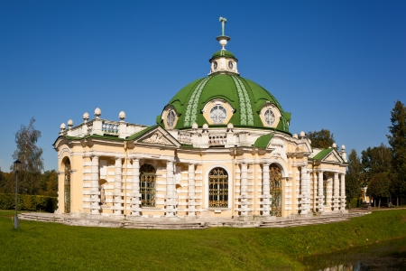 The Grotto Pavilion at the museum-estate Kuskovo, Moscow, Russia