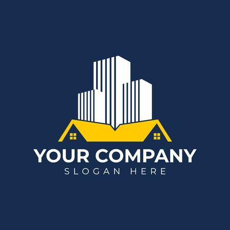 Real Estate and Building Logo Design Logo