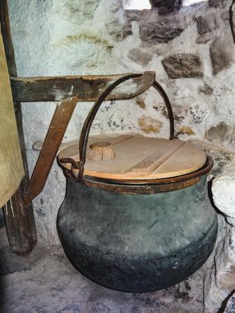 inside a house in ballenberg swiss open air museum