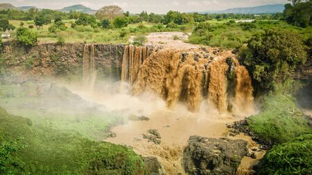 Popular Blue Nile Falls Waterfalls In Ethiopia, africa