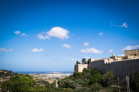 View from the old capital of Malta, Mdina