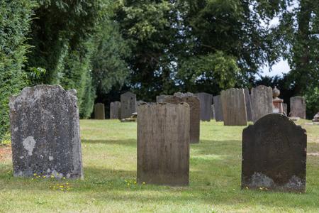 kent: Penshurst church Cemetery in Kent, United Kingdom