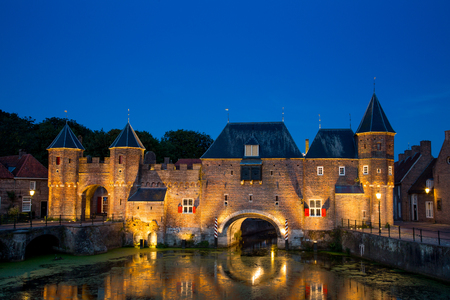 The Koppelpoort is a medieval combined land- and water gate in the Dutch town of Amersfoort. Build around 1425 and is part of the city wall.