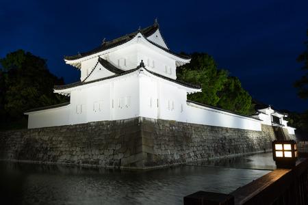 Nijo Castle (Nijo-jo), Kyoto, Japan. Built in 1603 and completed in 1626. Residence of the first Tokugawa Shogun Ieyasu. 写真素材 - 124999155