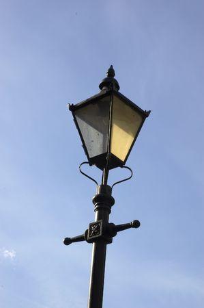 strret: A victorian strret lamp in England  uk