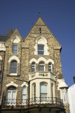 A row of victorian townhouses in England Stock Photo - 953087