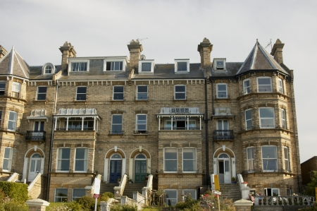 A row of victorian townhouses in England Stock Photo - 1640960