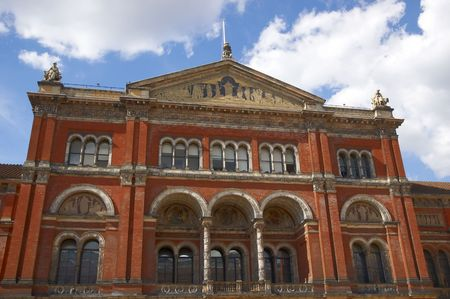 va: A view of the courtyard in the V&A museum