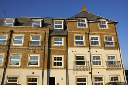 A development of new flats Stock Photo - 2847356