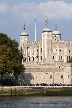 thames: A view of the Tower of London from across the river Thames Stock Photo