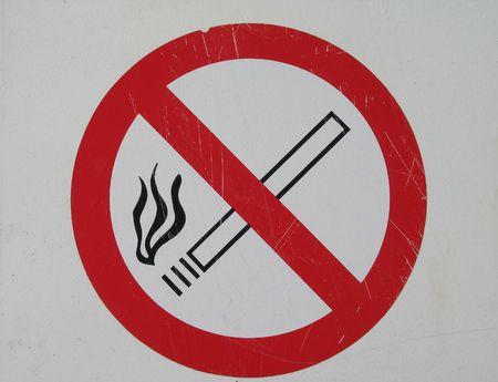niet-roken-teken