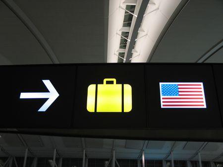 luggage sign