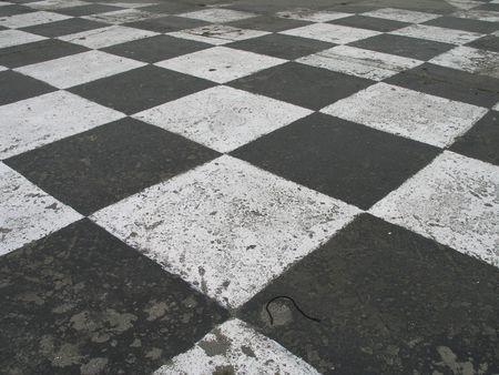 race track pavement Stock Photo